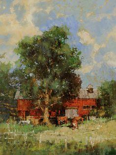Summer Breeze. Oil on Linen. CMDudash - Landscapes - Gallery1