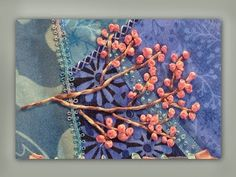 AWESOME how to embroider a silk ribbon blossom branch - YouTube