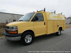 2004 Chevrolet 3500 Express Cargo Utility KUV Knapheide Body for sale in RICHMOND, VA - $7,995 - Davis Auto Sales Certified Master Dealer Richmond, Virginia www.davisautosales.com www.davis4x4.com