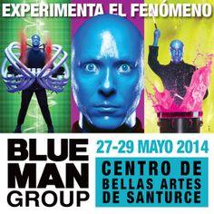 Blue Man Group @ Centro de Bellas Artes Luis A. Ferré, Santurce #sondeaquipr #bluemangroup #cba #santurce