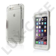 Waterproof (Hvid) iPhone 6 Plus Cover