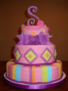 Samantha's 8th Grade Graduation Cake