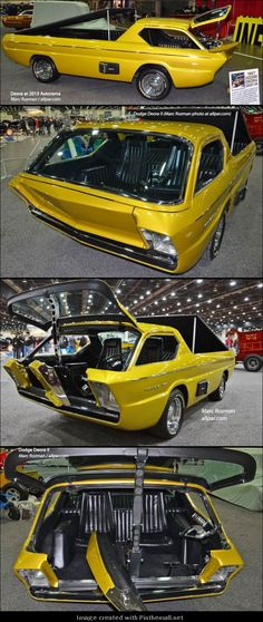 low money down. Open new Dodge Deora Concept Car.low money down. Open new opportunities. Dodge, Automobile, Porsche 911 993, Datsun 240z, Weird Cars, Unique Cars, Trailer, Car Humor, Cool Trucks