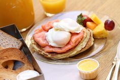 California Bakery - Pancake & Smoked Salmon