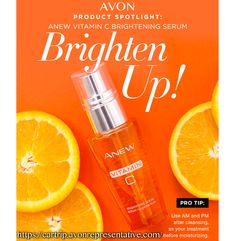 Discover AVON's Anew Vitamin C Brightening Serum. Energize your skin with this brightening serum and get that youthful glow. Avon Products, Vitamin C, Best Skincare For Men, Serum, Face Mask For Blackheads, Avon Skin So Soft, Avon Online, Shops, Avon Representative