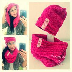 Knit winter woman set