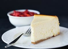 New York-Style Cheesecake Recipe (no water bath required!)