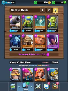 clash royale strategy arena 3 4 5 best decks cards combos offensive  http://ift.tt/1STR6PC