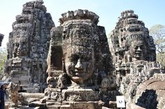 GET DIRECTIONS   Bayon Temple is breathtaking ode to Buddah by the ancients.  Bayon Temple is found after you pass through the South Gate Entrance, where there is a short drivealong thecool forest that canopies both sides with its unspoilt beauty.  Depending on what