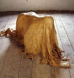 "Janine Antoni's raw hide cast of her body, ""Saddle"" Body Cast, Hand Molding, Feminist Art, Magazine Art, Art Plastique, Great Artists, Art Boards, Photo Art, Glass Art"