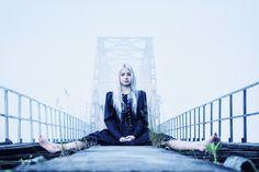#model #bridge #session #beauty #Poland #photography #photoshot #black