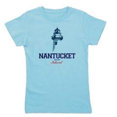 Nantucket - Massachusetts. Girl's Tee