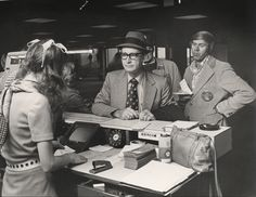 Great vintage photo of a temporary ticket counter in 1974, when Southwest moved to the west concourse @DallasLoveField