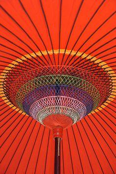 Orange | Arancio | Oranje | オレンジ | Colour | Texture | Style | Form | Pattern | Japanese Umbrella