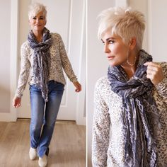Hi friends! Sweaters and scarves are upon us, and I couldn't be happier! I love both, along with boots, jackets,… The post Sweaters and Scarves appeared first on Chic Over 50.