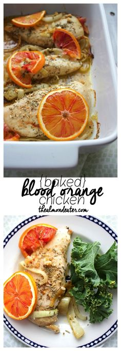 Negroni Chicken with Braised Blood Oranges | Recipe | Blood Orange ...