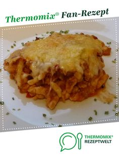Spätzle minced meat casserole from Mia. A Thermomix ® recipe from the main course with meat category www.de, the Thermomix ® community. A Food, Good Food, Yummy Food, Food Network Recipes, Food Processor Recipes, Spatzle, Cooking Dishes, Carne Picada, Mince Meat