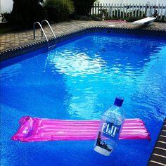 #pool #fijiwater
