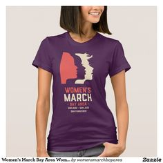 Women's March Bay Area Women's Fitted T-Shirt