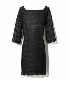 White House Black Market - Lace Shift Dress