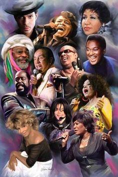 Girl Bands, Boy Band, Music Icon, Soul Music, Jazz Music, Whitney Houston, Michael Jackson, Famous Black People, Black Music Artists