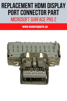 HDMI Display Port Connector Replacement PartFixes HDMI Socket Issues For Microsoft Surface Pro 2 (1601)100% Brand NewPrecise FitAffordable PriceDurable QualityFast DeliveryBuilt To Factory Specs Acer Laptops, Surface Pro 2, Dell Laptops, Hdmi Cables, Microsoft Surface, Science Nature, Specs, Favorite Things, Display