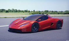 Ferrari Verus Concept Car is a design study by Andrus Ciprian as a competitor for Lamborghini Veneno.