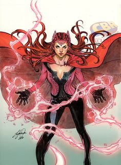 Siya Oum - Scarlet Witch