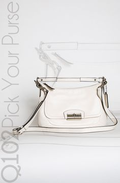 Coach - Kristin Leather East/West Crossbody. Go to wkrq.com to find out how to play Q102's Pick Your Purse!