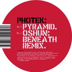 PPRO18  Listen: https://soundcloud.com/photek/sets/one-ppro18  Released May 6th 2013
