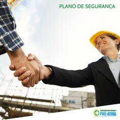 O Plano de Segurança ajuda a promover a saúde e a melhoria da qualidade de vida do trabalhador, a prevenção de acidentes e de danos à saúde. Consulte os nossos serviços!  #PróAtiva #Segurança