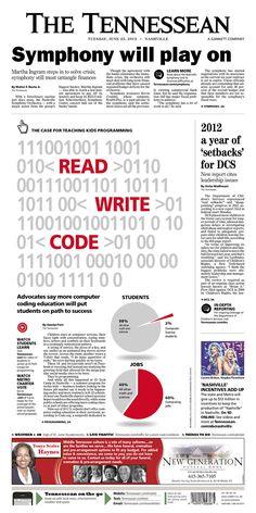 The Tennessean - Newspaper Design