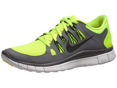 After a long run, nothing feels better than a pair of Nike Frees - Nike Free 5.0+ Men's Shoes Volt/Grey/White/Black
