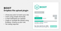 BOXIT - The Dropbox file upload for Wordpress