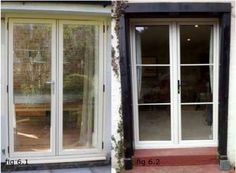 Choices Residence 9 Timber replacement, pair on right with astragals
