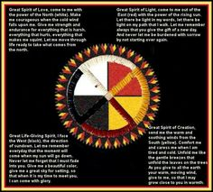 Sacred hoop and four directions prayer. Native American Prayers, Native American Spirituality, Native American Wisdom, Native American Indians, Native Americans, Four Directions, Medicine Wheel, Mexica, Prayer Flags