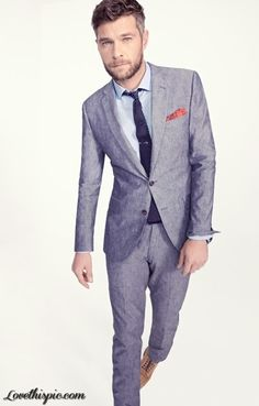 Grey Suit, Slim Fit, GQ Magazine, Men's Fashion, Men's Style ...
