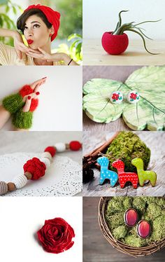 For the Love of Red by Joanna Haber on Etsy--Pinned with TreasuryPin.com