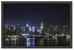 New York City night time skyline - $100.00 #onselz