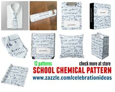 #school #chemical #pattern in different products & 12 patterns. Check more at www.zazzle.com/celebrationideas/school