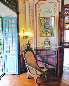 There are only a handful of colonial towns left in the Philippines, and Taal, a… Filipino Architecture, Philippine Architecture, Art And Architecture, Filipino Interior Design, Asian Interior, Interior And Exterior, Philippines Culture, Manila Philippines, Philippines Destinations