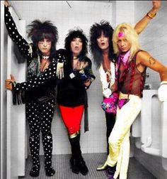 Motley Crue smokin in the boys room (not really not here anyway)