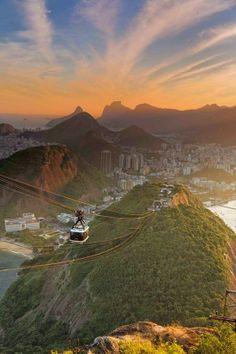 Sugarloaf Mountain, Rio de Janerio, Brazil