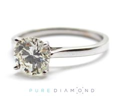 #diamond #round #gold #ring #Engagement #Vancouver #NorthVancouver #WestVancouver #Canada #Burnaby #NewWestminster #Coquitlam #Surrey #Abbotsford #engagementring #vancouverisawesome #vancitybuzz #vancouverdiamond #diamondring