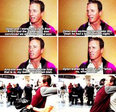Linden Ashby and Dylan O´Brien
