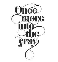 Gokú | Free font by Anthony James, via Behance