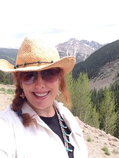 In the San Juan Mountains of Colorado. 2014. #Trinamansfield