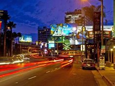 The Sunset Strip & other places to visit in LA.