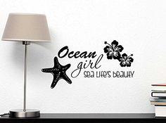Wall Decal Ocean girl sea life's beauty starfish hibiscus... https://www.amazon.com/dp/B00MF68ULI/ref=cm_sw_r_pi_dp_x_VDRwybC008W6B