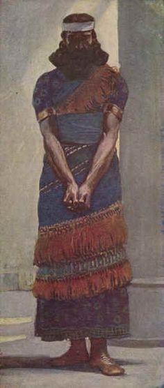 James Tissot - Le prophète Aggée 1888